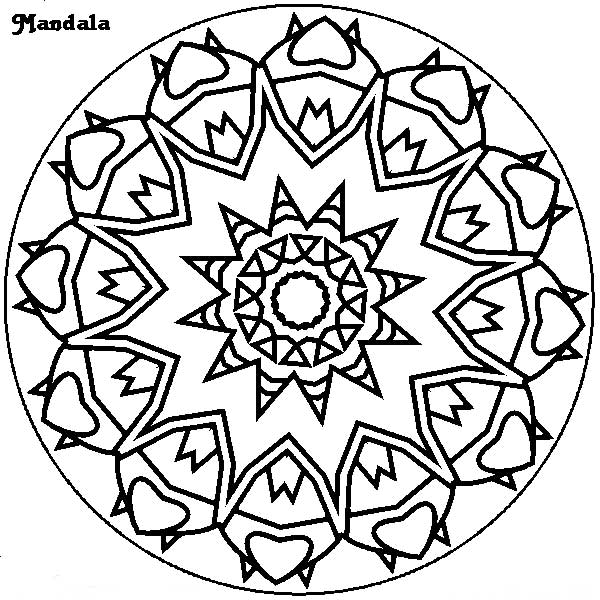 free art therapy mandalas coloring pages